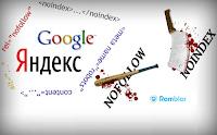 Спрятать внешние ссылки от поисковых систем