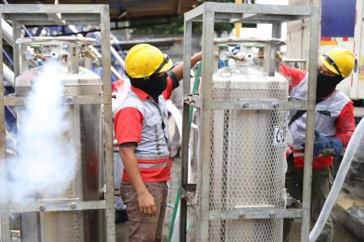 Cegah Kelangkaan Oksigen, Samator Diminta Naikkan Produksi dan Perbaikan SOP di Rumah Sakit