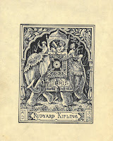 Rudyard Kipling's bookplate