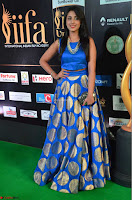 Madhu Shalini Looks Super Cute Slim trim Blue Choli Ghagra IIFA Utsavam Awards 21.JPG