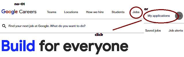 google jobs select