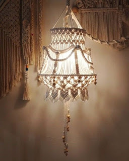 LAMPARAS-MACRAME