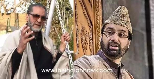 Abdul Gani Lone (Left) and Mirwaiz Farooq (Right)
