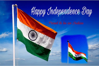 Happy Independence Day 2019 indian flag