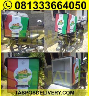Produsen Tas delivery pizza delizioso Jakarta bandung bogor tangerang bekasi jogja solo semarang malang surabaya bali banjarmasin batam
