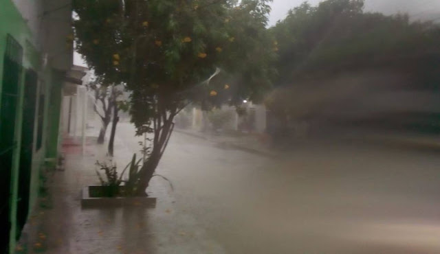 Alerta amarilla en el Caribe por fuertes lluvias y aumento del oleaje
