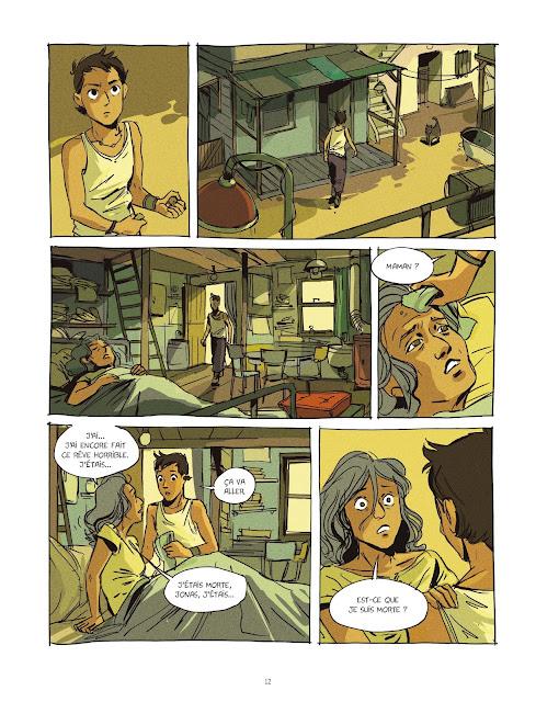 Eden tome 1 le visage des sans-noms Rue de Sèvres page 12