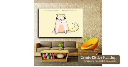 Crypto Kitties Art Gallery - Cat Paintings