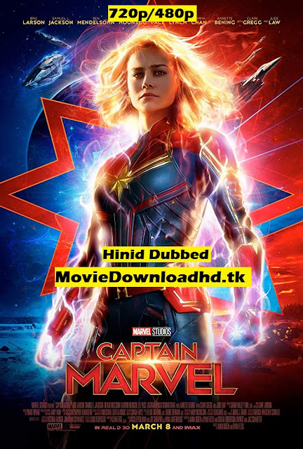 Captain Marvel 2019 ORG Hindi Full Movie Download in HD 720p/480p