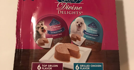 Product Review: Blue Buffalo Divine Delights for Dogs