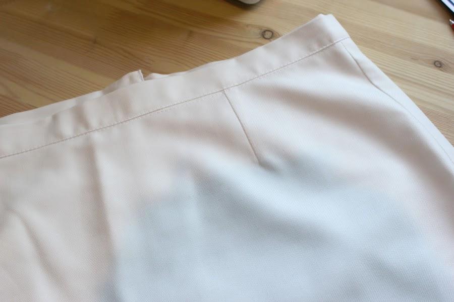 Aprender a coser faldas parte 4: Cómo dibujar y coser las pinzas de falda.