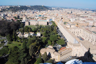 vue depuis Saint-Pierre Vatican