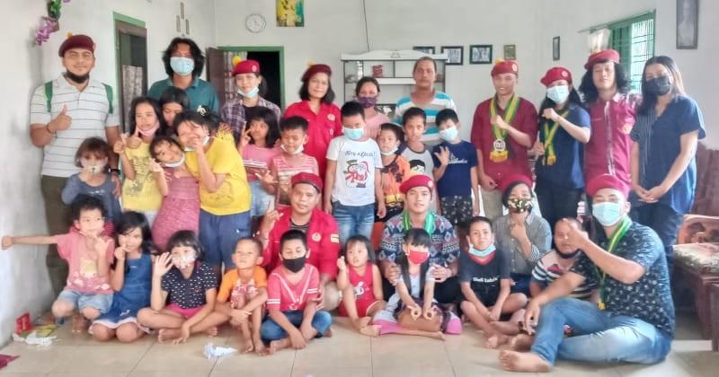 PMKRI Medan Berikan Pendidikan Gratis Kepada Anak Pinggiran Rel Kereta Api