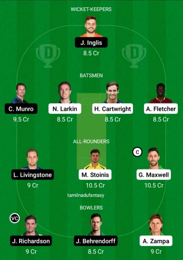 STA VS SCO DREAM 11 PREDICTION, PREVIEW, PITCH REPORT AND SO ON