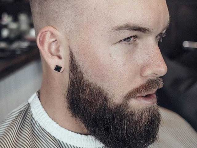 If your hairline has gone much above the forehead, then you can adopt this Beard Styles. The slick back style always works in this case. The sides are kept buzzed and short in this style and maintained at the top with an average combover.
