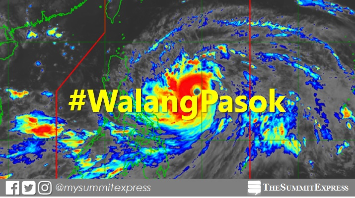#WalangPasok: Class suspensions for September 13, 14, 15, 2018