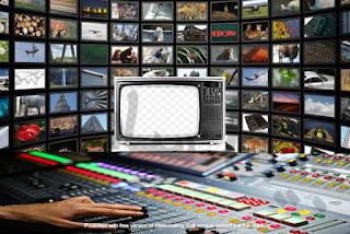 البث التلفازيوني للصورة المرئية والصوت