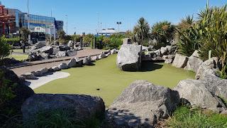 Adventure Golf at Blackpool Pleasure Beach