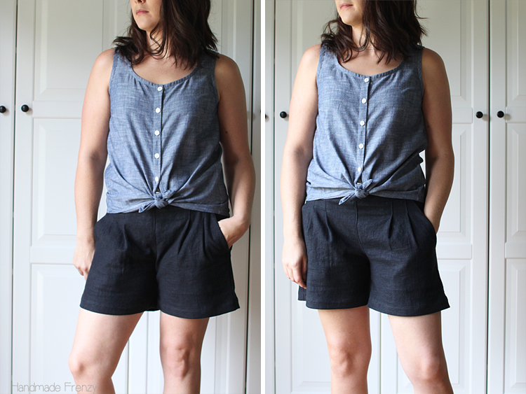 Southport Dress Tank Hack // Sewing For Women