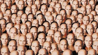 A Thousand John Malkoviches from Being John Malkovich