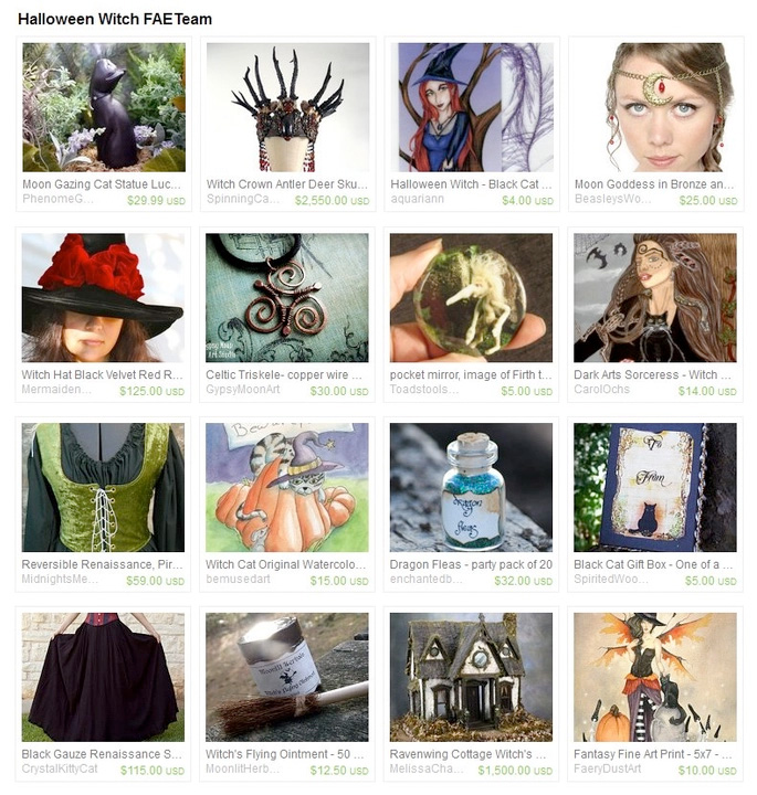 Halloween Witch Treasury