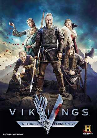 Vikings 2013 Complete S02 BRRip 720p Dual Audio In Hindi English