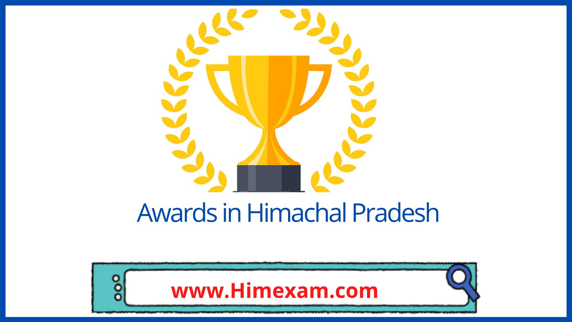 Awards in Himachal Pradesh