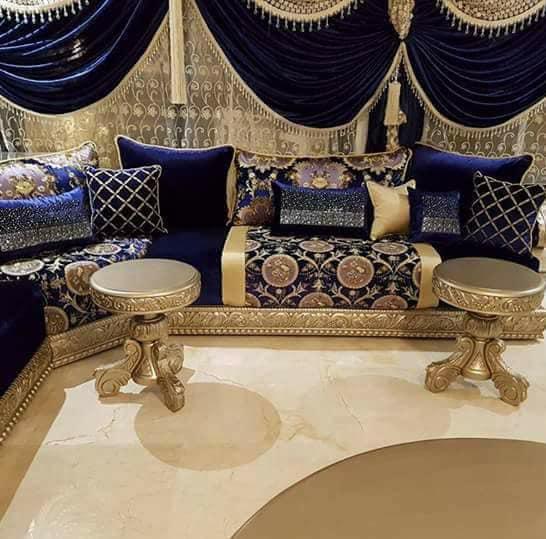 تصميم غرفة المعيشة الفخمة