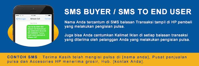 Cara Set SMS Buyer Digital Pulsa Murah