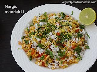 Nargis mandakki recipe in Kannada