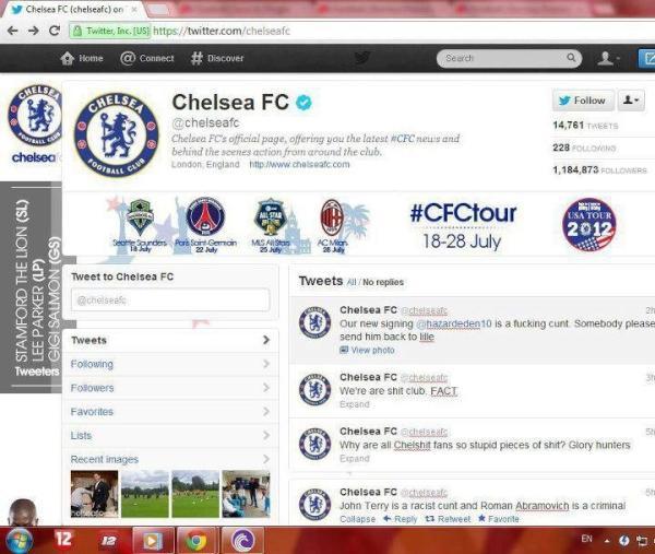 Chelsea Twitter