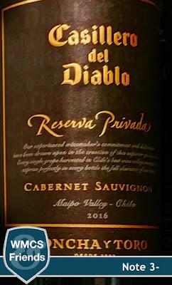 Concha Y Torro Cassilero del Diablo Cabernet Sauvignon Reserva Privada Chile 2016