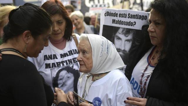 Madres de Plaza Mayo denuncian represión del Gobierno de Macri