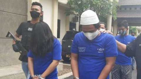 Polrestabes Semarang Ringkus Dua Perampok Warga Bandung