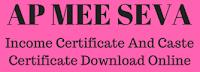ap-mee-seva-caste-certificate-income-certificate-download-online