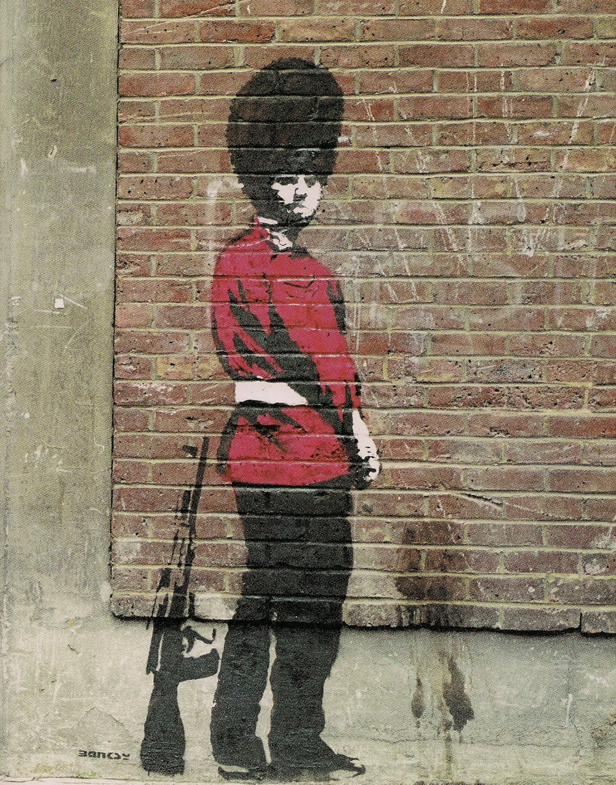 Iphone X See Through Wallpaper Hd My Lovely Surroundings September Book Review Banksy Wall
