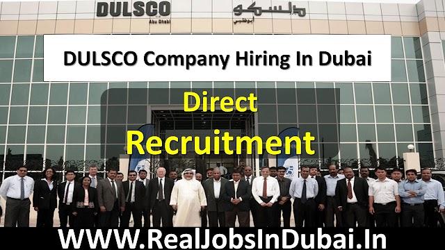 Dulsco Careers In Dubai – UAE 2020