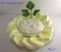 Dip de yogurt y pepino