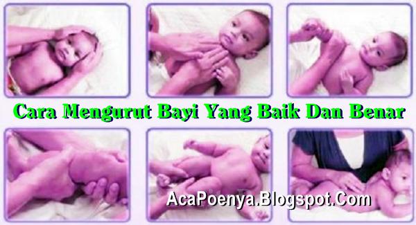 Cara Mengurut Bayi