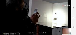 memotret dengan smartphone
