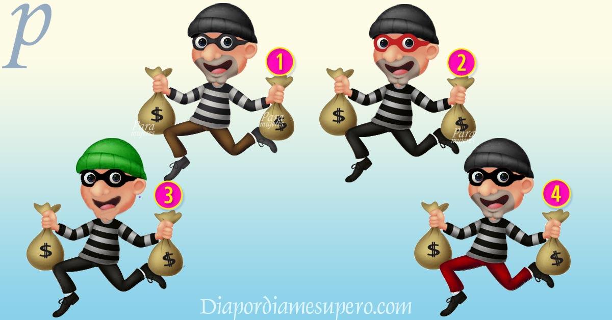 Test: ¿Quién crees que es el ladrón?