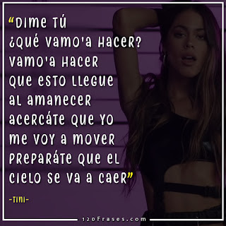 captura del video recuerdo de tini con letra