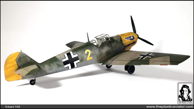 Messerschmitt Bf-109/E-1 Eduard in 1/48