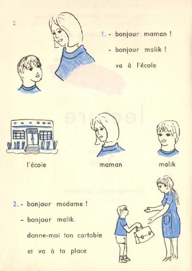 Manuels Anciens Lecture Malik Et Zina 3e Annee D