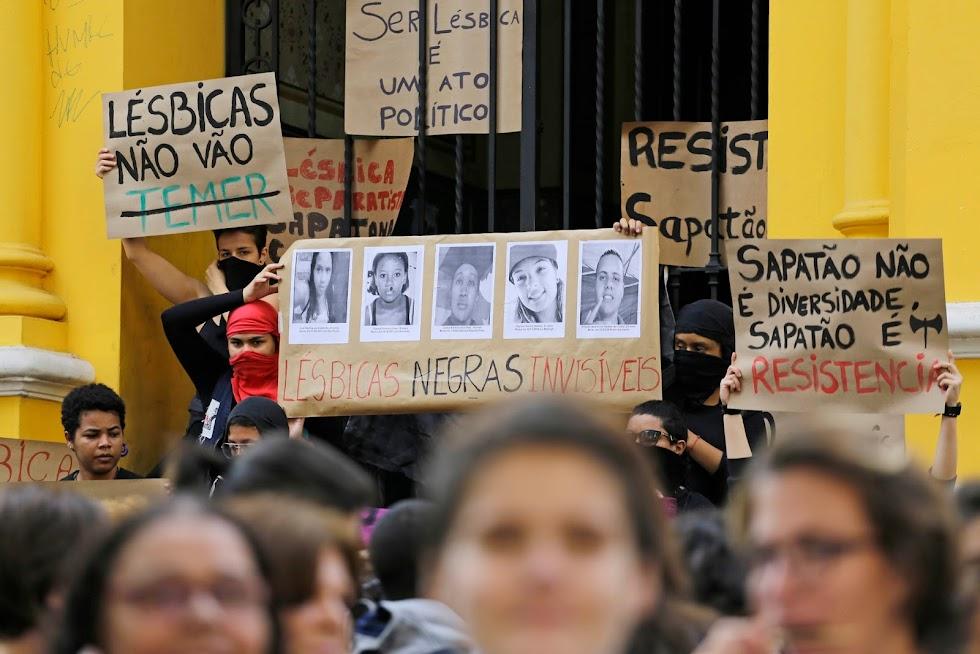 Marcha lésbica reune milhares em caminhada no Centro de São Paulo