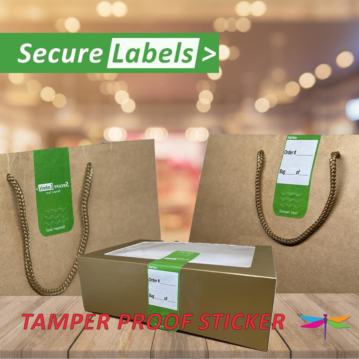 Secure Labels Sticket