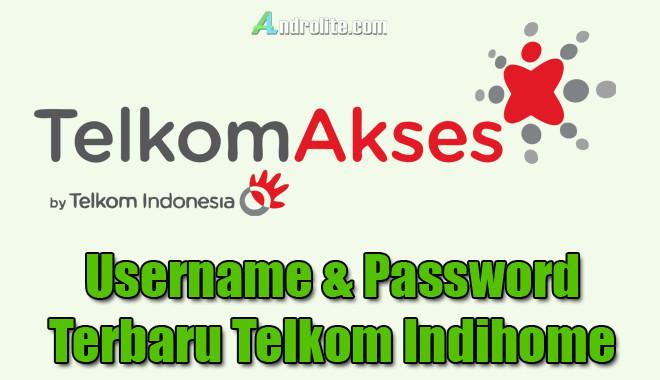 Password Terbaru Telkom Indihome