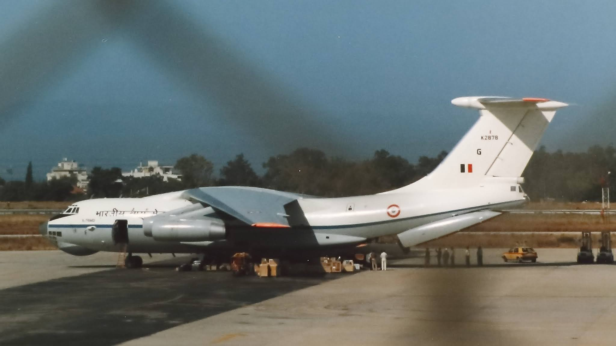 IL-76MD - Indian Air Force - IAF - Athens - Greece - 01