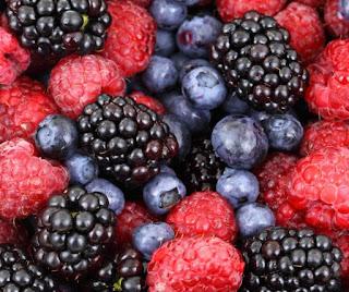 Raspberry, Blackberries, Blueberries