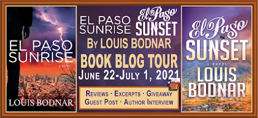 The El Paso Books book blog tour promotion banner